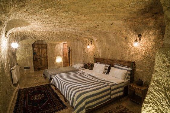 Camera Luna per dormire nei Sassi di Matera
